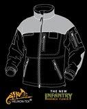 INFANTRY Duty Fleece Black/camo NEW!_