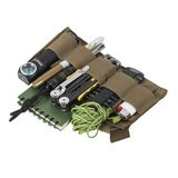 WAIST BAG model BANDICOOT Helikon-tex Black with Olive Green_