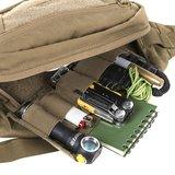 WAIST BAG model BANDICOOT Helikon-tex Coyote with Adaptive Green_