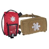 MODULAR INDIVIDUAL MED KIT® Pouch Helikon-Tex Red with OLIVE GREEN_