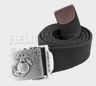 UNITED STATES MARINES belt/riem ZWART