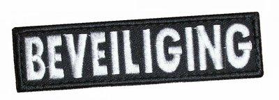 Beveiliging Velcro strip 10 x 3 cm (klittenband)