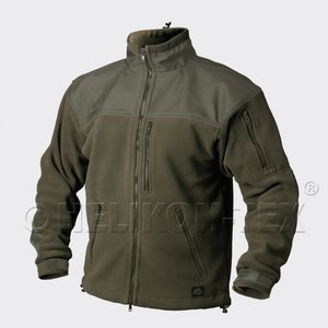 Classic Army Fleece Helikon-Tex olive green (medium weight)