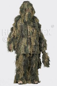 Ghillie Suit Sniper Camo Digital Woodland Helikon-tex