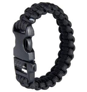 Wristband Tactical Web-Tex ZWART