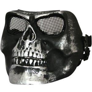Hardshell Full Face Mask SKULL black