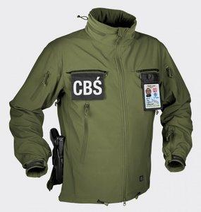 COUGAR® QSA™ + HID™ Jacket - Soft Shell Windblocker - OLIVE GREEN