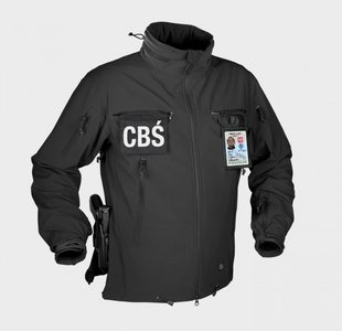 COUGAR® QSA™ + HID™ Jacket - Soft Shell Windblocker - BLACK/zwart