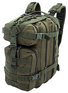 Assault Backpack 25 liter Olive Green van CAMO MG