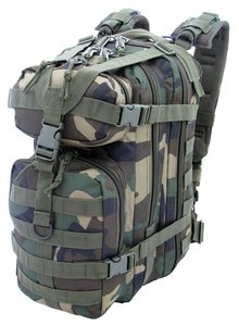 Assault Backpack 25 liter Woodland van CAMO MG