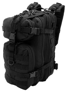 Assault Backpack 25 liter Black van CAMO MG