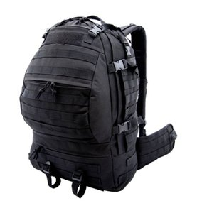 Backpack CAMO MG type CARGO OPS 32-45 liter BLACK