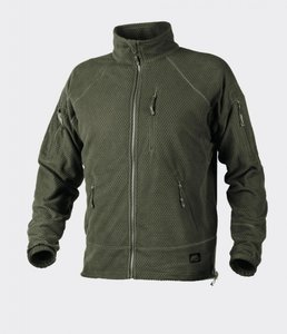 Alpha TACTICAL Grid Fleece Jacket OLIVE GREEN