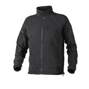 Alpha TACTICAL Grid Fleece Jacket BLACK   NEW!