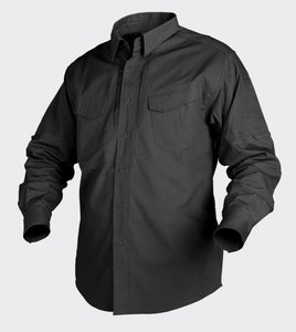 DEFENDER SHIRT Long Sleeve BLACK / ZWART / NOIR / NEGRO / SWARTZ