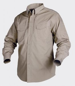 DEFENDER SHIRT Long Sleeve BEIGE / KHAKI