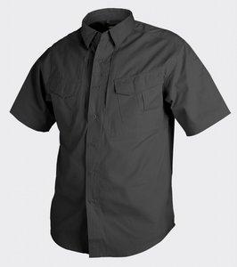 DEFENDER SHIRT Short Sleeve BLACK / ZWART / NOIR