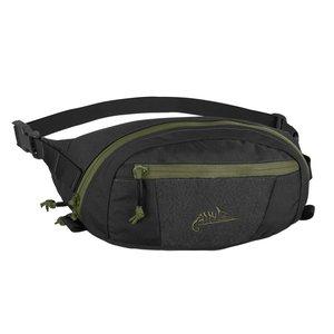 WAIST BAG model BANDICOOT Helikon-tex Black with Olive Green