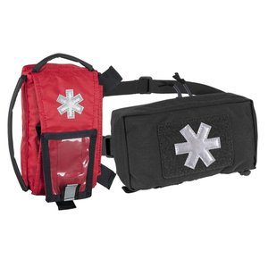 MODULAR INDIVIDUAL MED KIT® Pouch Helikon-Tex Red with BLACK