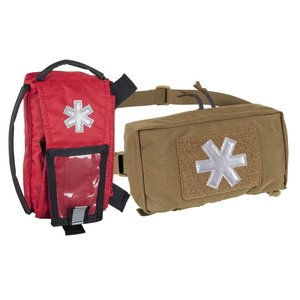 MODULAR INDIVIDUAL MED KIT® Pouch Helikon-Tex Red with COYOTE