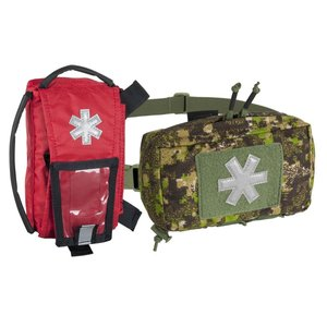 MODULAR INDIVIDUAL MED KIT® Pouch Helikon-Tex Red with PENCOTT BADLANDS