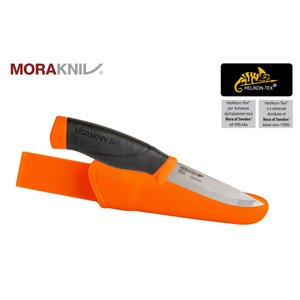 Rescue Knife MORAKNIVE Sweden FLUO ORANGE Heavy Duty Carbon Steel