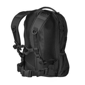 RAIDER Backpack 20 liter in BLACK / zwart